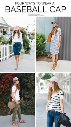 four ways to wear a baseball cap this summer  dc76e352d1a1