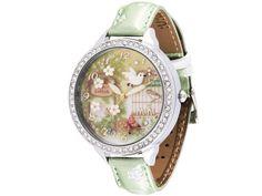 My secret garden - Ročne ure Mini watch Quality Diamonds, Beautiful Watches, Fashion Watches, Luxury Branding, Bracelet Watch, Jewelery, Jewelry Box, Miniature, Womens Fashion