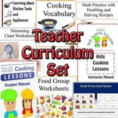 Within our kids cooking lessons are easy and fun kid recipes to teach your kids cooking. We've divided our basic cooking lesson plans into 5 age groups. Kids Cooking Set, Kids Cooking Activities, Kids Cooking Recipes, Children Cooking, Cooking Games, Lunch Recipes, Dinner Recipes, Healthy Children, Dessert Recipes