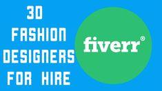 3D Fashion Designers for Hire 3d Fashion, Fashion Flats, Apparel Design, Design Tutorials, Fashion Designers, 3 D, Templates, Free, Stencils
