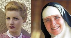 Before and after ... Rev. Mother Dolores Hart (born October 20, 1938, Chicago, Illinois) is an American Roman Catholic nun and former actress. She made 10 films in five years, playing opposite Stephen Boyd, Montgomery Clift, George Hamilton and Robert Wagner, having made her movie debut with Elvis Presley in Loving You (1957).[1][2]