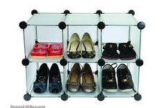 Image result for shoe shelf boxes