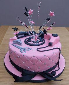 Happy Birthday Hair Stylist Cakes