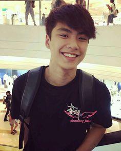 Senyumnya Ohm bikin meleleh! A Love So Beautiful, Love Sick, My Love, Book And Frame, Korean Boys Ulzzang, Gay, Thai Drama, Iyengar Yoga, Asian Actors