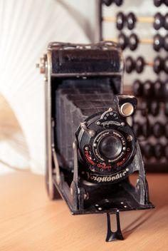 Beautiful vintage camera <3