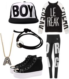 """Outfit inspired by: AlphaBAT on """"AB City"""" MV"""