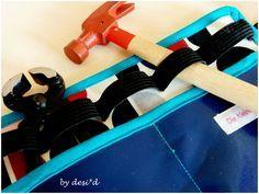 Die kleine Schneiderei: Werkzeuggürtel für Kinder
