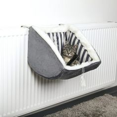 PET Cat Prince RADIATOR Warm FLEECE BED BASKET Cradle Hammock by Trixie Contains: 1 Radiator Bed Size: 38 30 38 cm Short-hair plush cover Polyester fleece filling Stable metal frame With adjustable holding device For all conventional rad. Animal Room, F2 Savannah Cat, Cat Room, Pet Furniture, Furniture Movers, Luxury Furniture, Office Furniture, Cat Accessories, Pet Beds