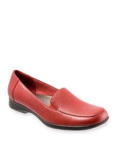 Trotters Red Jenn Loafer