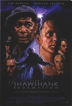 """Starring Tim Robbins and Morgan Freeman....Adapted from the Stephen King novella Rita Hayworth and Shawshank Redemption, the film tells the story of Andy Dufresne, a banker who spends nearly two decades in Shawshank State Prison for the murder of his wife and her lover despite his claims of innocence. During his time at the prison, he befriends a fellow inmate, Ellis Boyd """"Red"""" Redding, and finds himself protected by the guards after the warden begins using him in his money laundering…"""