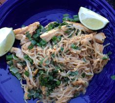 Pad Thai with Miracle Noodles (HCG Diet Recipe)