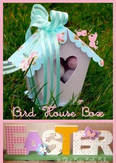 I have a real thing for bird houses. I find them beautiful and delicate. And they are so versatile, you can use them with many dif...