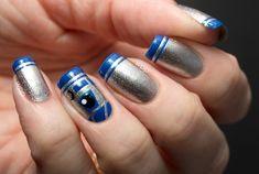Unhas inspiradas em Star Wars! #starwars #geek #nails #unhas