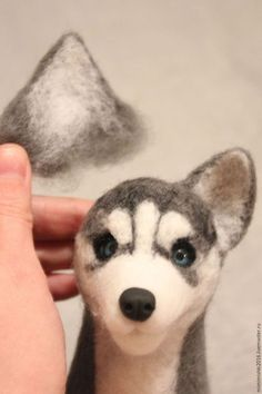 Как свалять щенка хаски - Ярмарка Мастеров - ручная работа, handmade