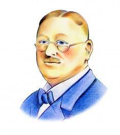 812. Illustration for an advertice Alfred Berg Fondförvaltare