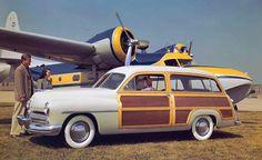 1949 Mercury Eight Two-Door Station Wagon