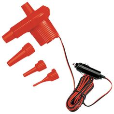 Inflator/ Deflater Powered By 12V Source With 3mm-15mm Nozzles : ( Pack of 1 Pc )
