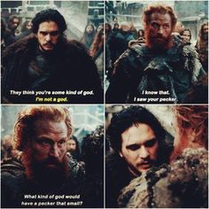 Game of Thrones - Jon Snow & Tormund