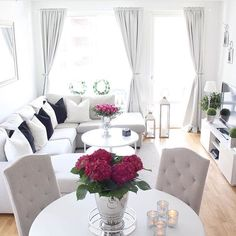 Home Decorators Collection Blinds Product Living Room Grey, Small Living Rooms, Home Living Room, Apartment Living, Living Room Designs, Living Room Decor, Luxury Home Decor, Interior Design, Future