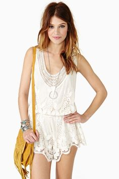 Harmony Romper -- usually I'm too tall for these..but I love the lace!
