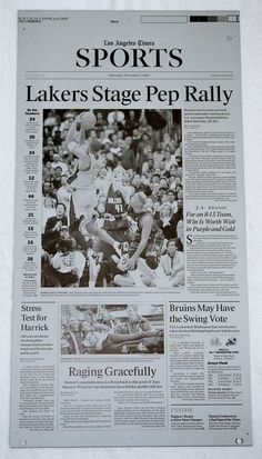 2002 KOBE BRYANT LA TIMES LOS ANGELES LAKERS PRINTING PLATE  #NBA #Kobe #24 #BlackMamba #NBAFinals #LATIMES #LakerNation #PrintingPlate #PressPlate