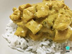 Pollo Korma, Asian Recipes, Carne, Food And Drink, Meme, Chicken, Coconut Milk, Recipes With Chicken, Health Foods
