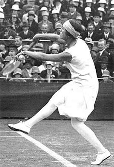 Schiaparelli 1930s culottes created for tennis champion Lily d'Alvarez, which outraged the Wimbledon establishment.