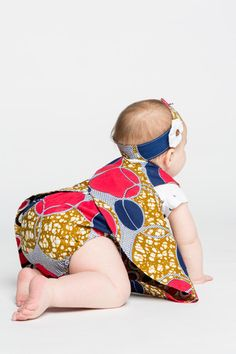 These diaper covers make for an adorable look. Made by mothers and grandmothers in Malawi, these bloomers are made with love. Pair these bloomers with a reversible pinafore, and you have the perfect o