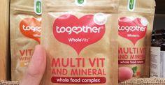 #Натурални #витамини и #минерали, добити от естествени хранителни източници. #Веган, #безГлутен, без добавена захар, #без синтетични #оцветители! Купи онлайн от тук: http://spirala.bg/shop/super-foods/multivitamins-minerali или ела в Био супермаркет #Spirala. #веган #витамини #минерали #TogetherHealth #хранителнадобавка #здраве #имуннасистема