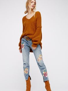 One Teaspoon Orchid Blue Freebird Skinnies at Free People Clothing Boutique