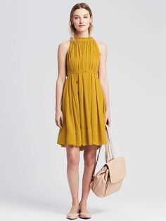 Tyler's Summery Yellow Dress. I have been lusting after this dress for five months. That's not an exaggeration.