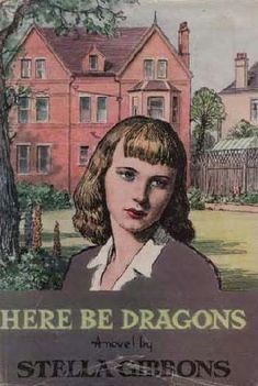 bohemian London in Here Be Dragons by Stella Gibbons Vintage Book Covers, Vintage Books, Books To Buy, My Books, My Best Friend, Best Friends, Stella Gibbons, Here Be Dragons, Vintage Classics