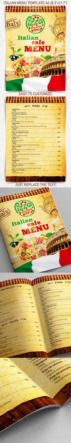 Mexican Menu Template vol2 Mexican menu, Menu templates and - food menu template