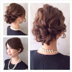 これから、結婚式やパーティーが増えてくる季節。結婚式にお呼ばれする機会も増えますよね。いつもと違うドレスアップに気合いが入ります。服、何着よ〜? 髪型どうしよう〜? いつも悩んでしまう、そんなあなたに。おしゃれで美人度がアップする、今どきモテヘアアレンジスタイルをご紹介致します♡