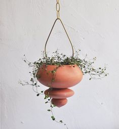 Hanging ceramic planter, flower pot inside and outside, handmade design, terracotta artwork, unique housewarming gift Hanging ceramic planter indoor and outdoor flower pot handmade Etsy Indoor Outdoor, Indoor Planters, Ceramic Planters, Planter Pots, Succulent Planters, Unique Housewarming Gifts, Unique Gifts, Self Watering Planter, Outdoor Flowers