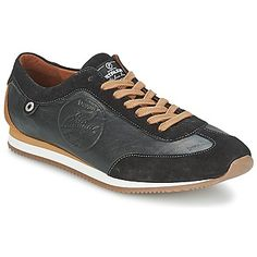 voordelige Pataugas isido heren sneakers (Zwart)