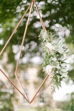 COPPER DIAMONDS hanging from trees Irish Wedding, 2 Colours, Elk, Wedding Events, Dandelion, Stylists, Flowers, Diamonds, Copper