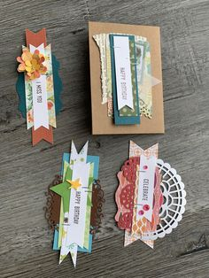Trying to use all my scraps! Scrapbook Stickers, Scrapbook Cards, Valentine Activities, Halloween Tags, Cardmaking And Papercraft, Candy Cards, Scrapbook Embellishments, Handmade Birthday Cards, Creative Cards