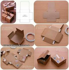 DIY: Geschenkbox selbstgemacht How to make your own paper box. Good for a food box or for gifts. (How To Make Bracelets Easy) The post DIY: Geschenkbox selbstgemacht appeared first on Paper Diy. Diy Craft Projects, Diy Crafts, Foam Crafts, Diy Gift Box, Diy Box, Gift Boxes, Jewelry Packaging, Box Packaging, Scarf Packaging