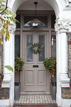 The doorway...