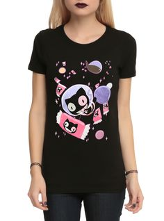 Steven Universe Cookie Cat Space Girls T-Shirt   Hot Topic
