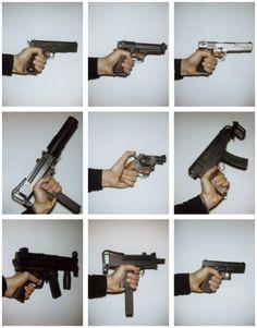 Various guns