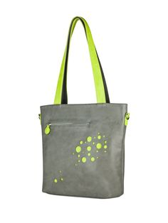 Our bubbly design will add a little pop in your style! This tote bag features laser cut details and contrasting straps to bring more fun to your look! Top zipper closure Front pocket with zipper closure Back pocket with zipper closure Interior zip compartment and slip phone pocket Adjustable and detachable long shoulde Best Tote Bags, One Back, Shoulder Strap, Bubbles, Closure, Bag Design, Zipper, Green, Fun