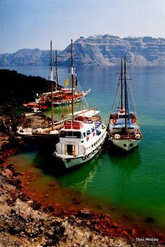 Σαντορίνη Social Distortion, Macedonia, Sailing Ships, Greece, Boat, Nature, Greece Country, Dinghy, Naturaleza