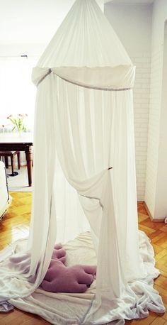Baldachim-Namiot Biały w Arte Aria Artesania na DaWanda.com