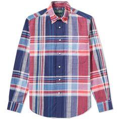 a8e5d912d91 Gitman Vintage Madras Shirt