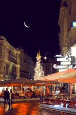 Graben Street of Vienna Vienna Nightlife, Night Life, Times Square, Stock Photos, Pictures, Image, Trench, Photos, Drawings