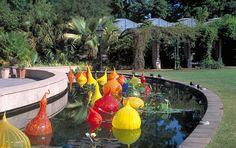 Dale Chihuly - at The Atlanta Botanical Garden -