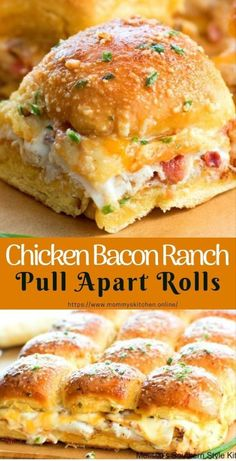 allrecipes breakfast complete chicken cooking recipes dinner recipe tasty ranch ideas lunch apart rolls bacon Chicken Chicken Bacon Ranch Pull Apart Rolls is Tasty You must see the complete recipesYou can find Food recipes and more on our website Gourmet Recipes, Appetizer Recipes, Cooking Recipes, Easy Recipes, Dinner Recipes, Dinner Ideas, Party Appetizers, Cheese Recipes, Easy Party Snacks