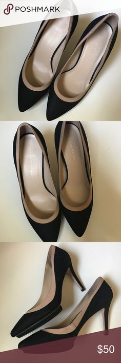 Loeffler Randall pumps Black and nude details pumps. Used once. They're too big on me. I'd say it's a true 9. Loeffler Randall Shoes Heels